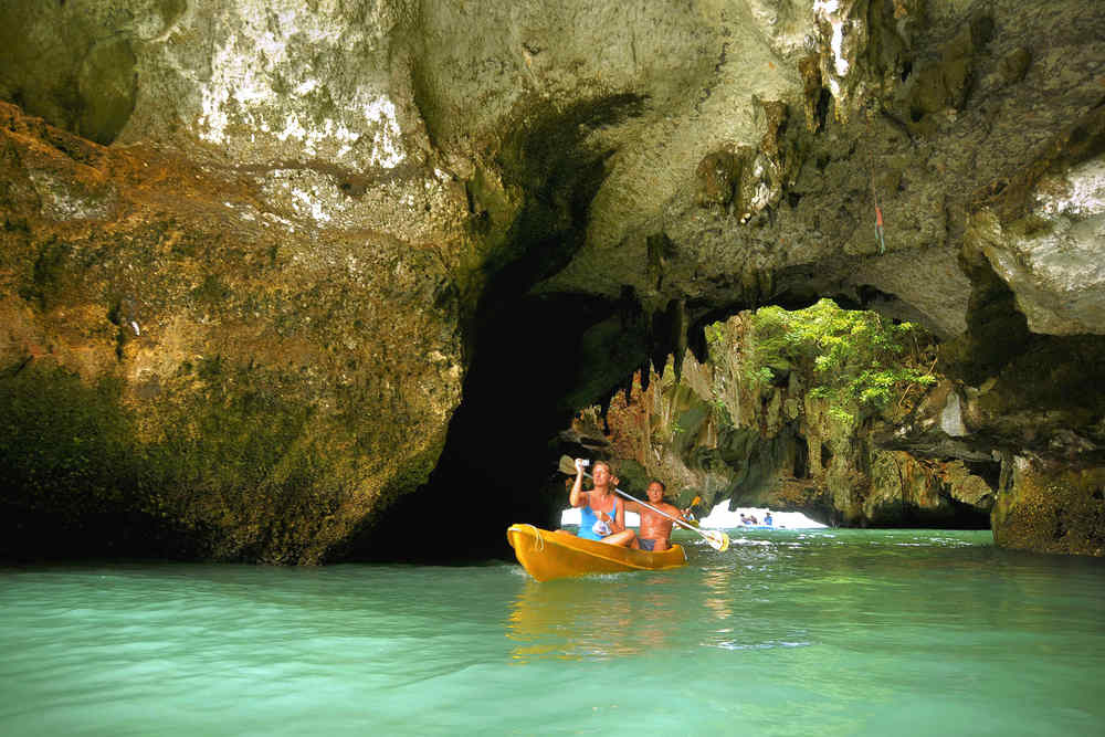 Ausflüge in Höhlen auf Koh Lanta