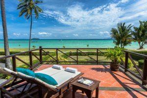 Ausblick von Insel Koh Phi Phi Island Village